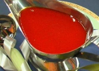 Доматен сос с розмарин
