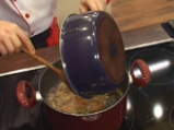 Гъбена супа с кафяв ориз 6
