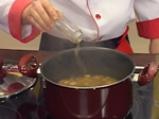 Гъбена супа с кафяв ориз 7