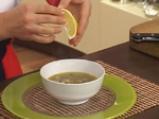 Гъбена супа с кафяв ориз 8