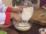 Бърз бюрек с праз и сирене 4