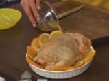 Пикантно пиле с портокали 7
