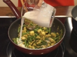 Тайландско пиле със зелено къри 7