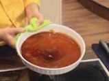 Тиквен крем карамел с крокан от тиквено семе 2