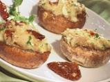 Пълнени печурки със сушени домати и ...