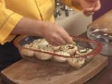 Пълнени печурки със сушени домати и \