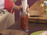 Пилешки хапки с доматен сос и бамя 5