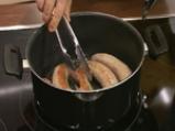 Зелеви сарми с ориз и наденица