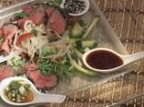 Тайландска салата с телешко месо