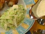 Зелева салата с дижонски сос