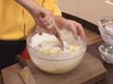Картофени палачинки с крем от спанак и рулца от раци 5