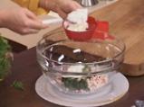 Картофени палачинки с крем от спанак и рулца от раци 9