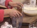Зехтинов кекс с бадеми и мус от горски плодове 2