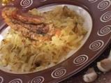 Свинско с кисело зеле по баварски