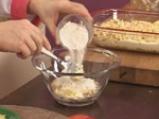 Ябълков сладкиш с крем сирене и топинг от овесени ядки 9