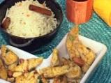 Пиле къри с ориз и кокос