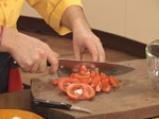 Пълнени чушки с маслини и яйца на микровълнова фурна 3