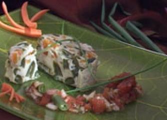 Зеленчуков омлет в купичка
