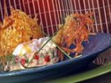 Забулени яйца с пюре от карфиол и кро...