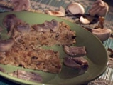 Патладжани с тофу на фурна с гъбен сос
