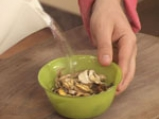 Патладжани с тофу на фурна с гъбен сос 2