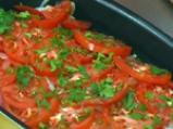 Мерлуза с лук и домати 2
