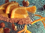 Торта с шоколад, орехи и лешници