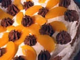 Нашата прасковена торта