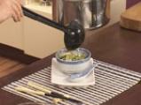 Зелена супа със свинско и зеле 10