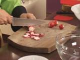 Салата от аспержи със скариди 6