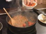 Пъстърва с рагу от домати и два соса 5