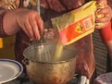 Мамалига с пилешки бутчета 2
