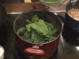 Дробчета в соев сос и спанак