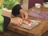 Риба със зеленчуци във фолио 7