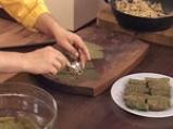 Персийски сарми с млечен таханов сос 8