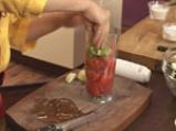 Салата от патладжани с доматен винегрет 3