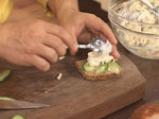 Здравословен салатен сандвич с пилешко 8