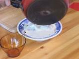 Ордьовър от аспержи със скариди и сварени яйца 9
