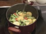 Плакия от зелен фасул и картофи 6