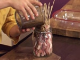 Свински шишчета, мариновани с ананас 8