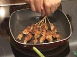 Свински шишчета, мариновани с ананас 9
