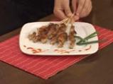 Свински шишчета, мариновани с ананас 10
