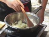 Руло с тиквички и миди 4