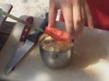 Руло с тиквички и миди 8