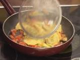 Равиоли с коприва, зеленчуци, песто и шафран 5