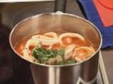 Калмари с доматен сос и макарони на фурна 5