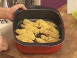 Пилешко филе, панирано в тортиля чипс 8