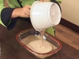Какаов бисквит с малини 4