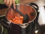 Крем супа от моркови с лук и кашу 2