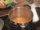 Крем супа от моркови с лук и кашу 5